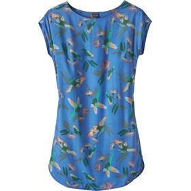61e1f393d644 Patagonia W's June Lake Dress Parrots/Port Blue